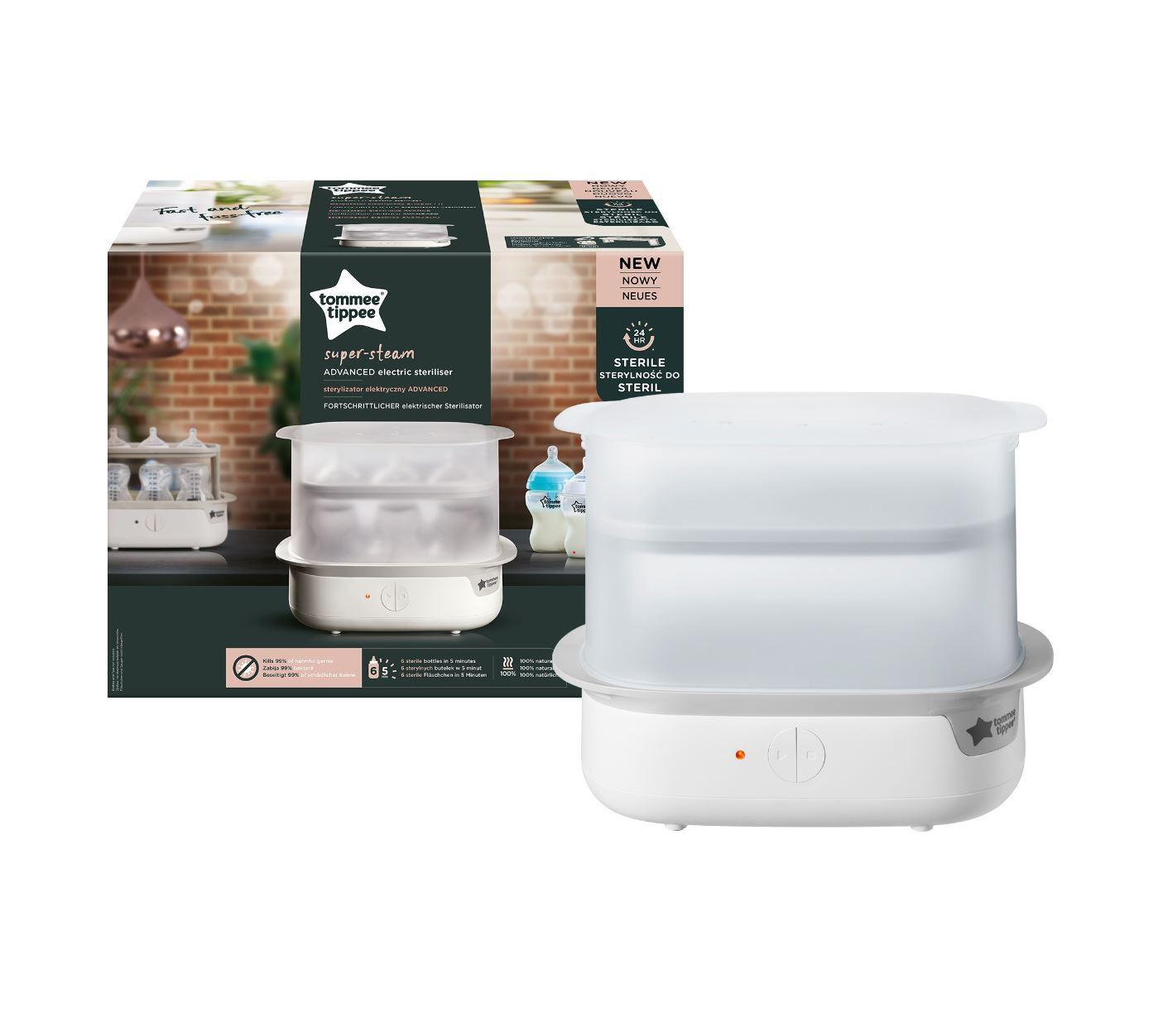 Stérilisateur électrique sans BPA TOMMEE TIPPEE