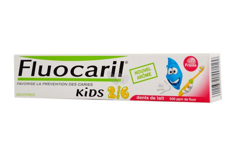 Dentifrice Fluocaril Kids 2/6