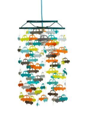Decoration Abat-jour voitures garcon