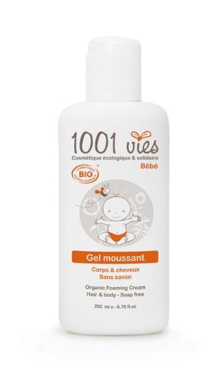 Gel moussant Bio Bébé Corps et Cheveux 200 ml