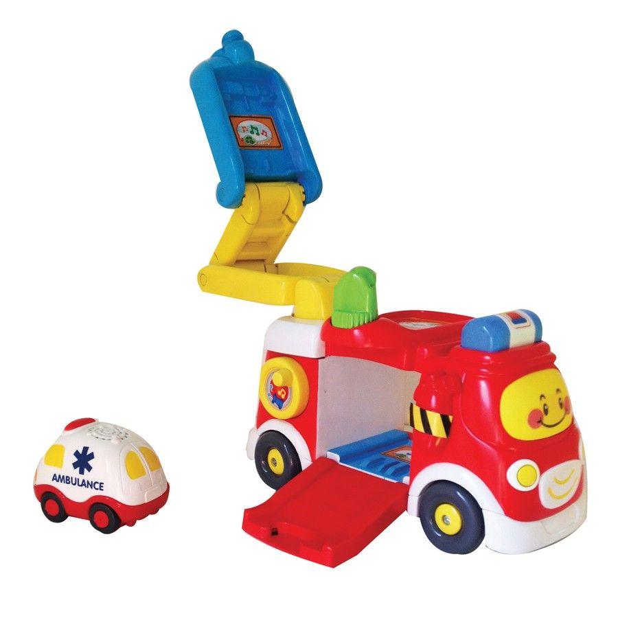 Tut Tut Bolides Mon super camion de pompier