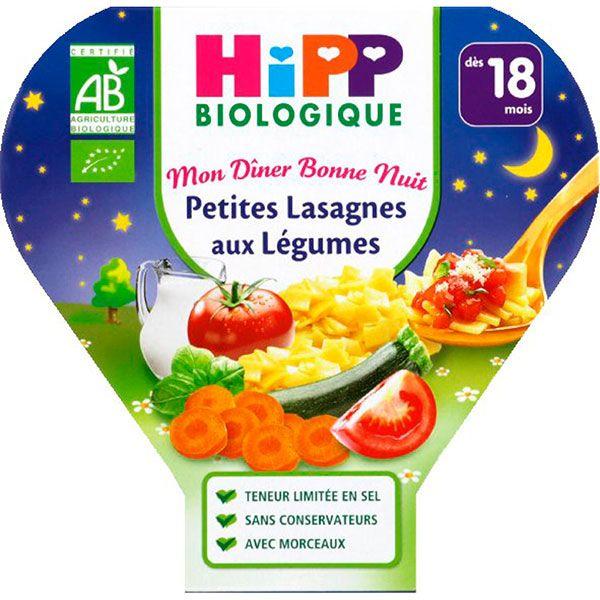 Mon Dîner Bonne Nuit : petites lasagnes aux légumes