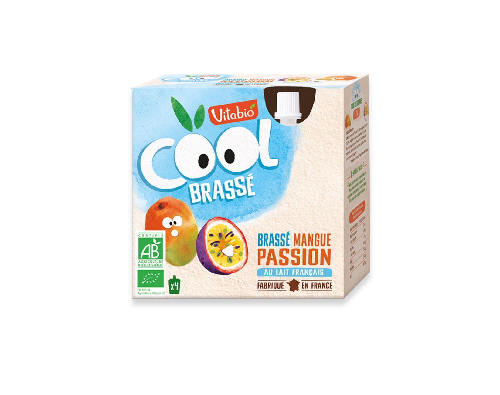 Cool Brassé - au Lait de Vache français - Mangue Passion