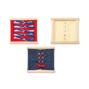 3 Cadres d'habillage Ateliers Montessori