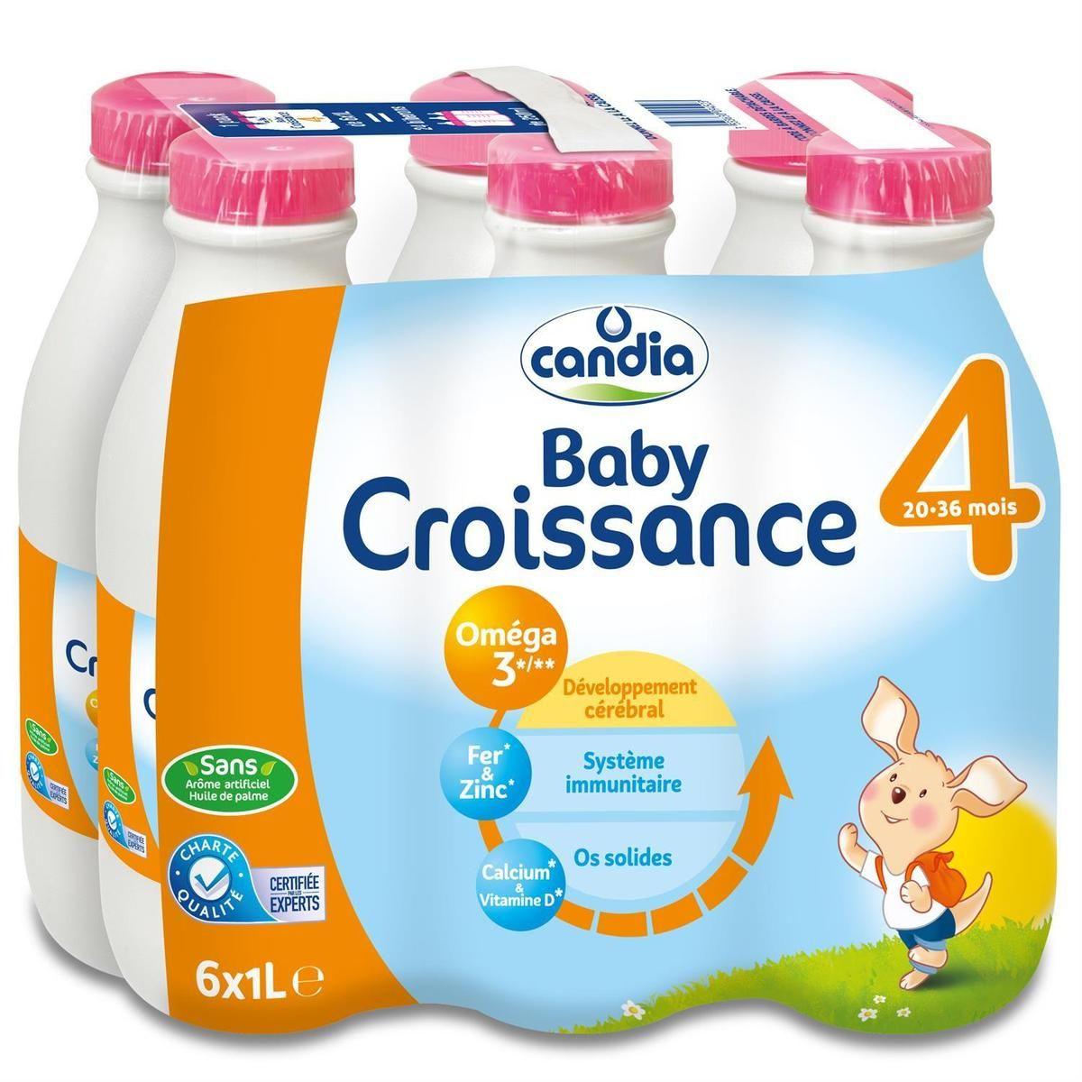 Lait Baby Croissance 4