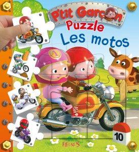 Livre puzzle Les Motos