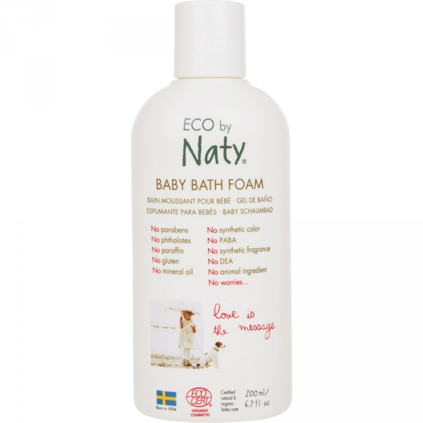 Baby bath foam eco