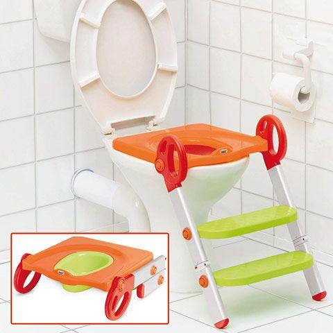 Pot & Réducteur de toilettes évolutif
