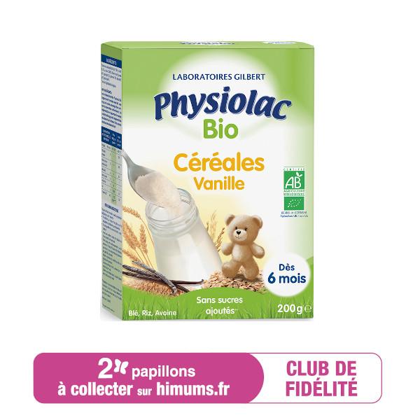 Céréales Bio Vanille PHYSIOLAC