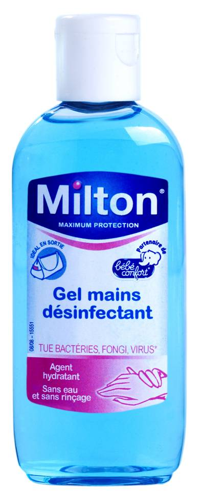 Gel désinfectant mains 100 ml MILTON