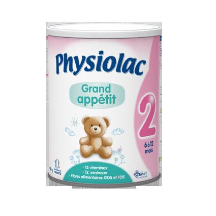 Lait Physiolac Grand Appétit 2 PHYSIOLAC