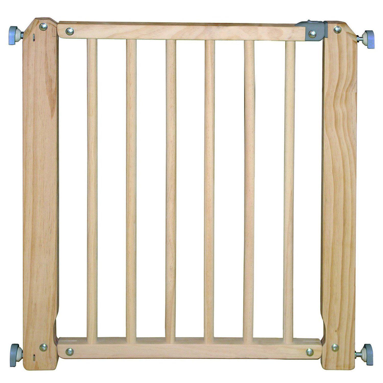 Barrière de sécurité en bois