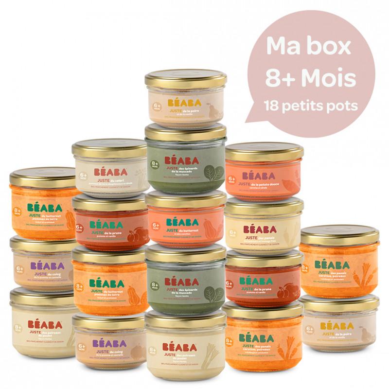Pack 18 petits pots 8m+