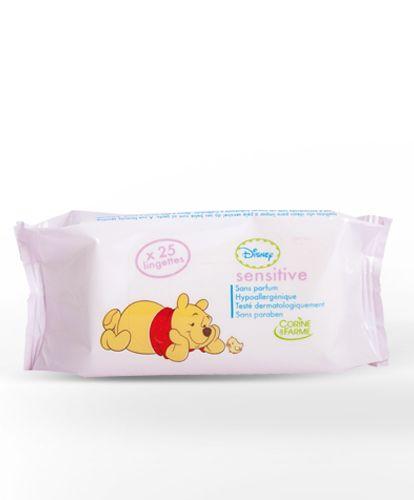Lingettes Bébé Sensitive Winnie (x 25)