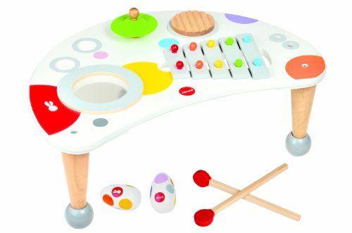 Table musicale confetti