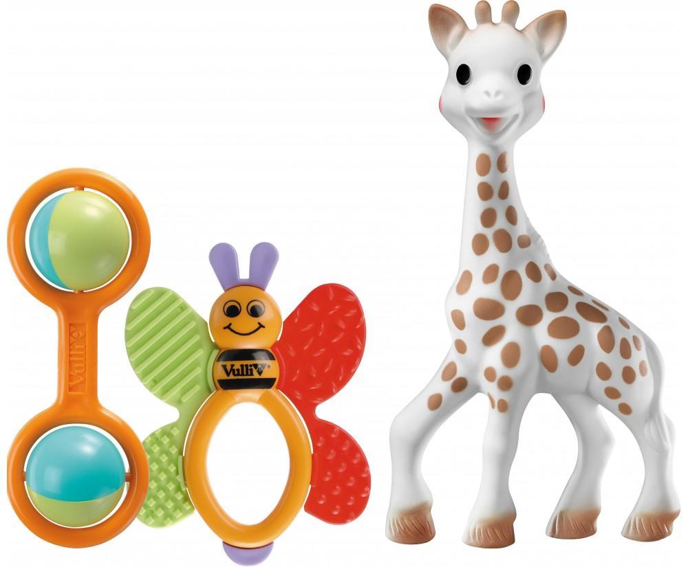 Set de naissance papillon Sophie la girafe