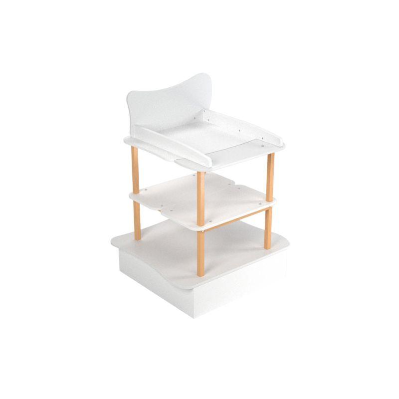 Table à langer évolutive