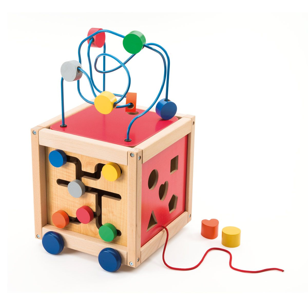 Cube boulier d'activités à tirer OXYBUL