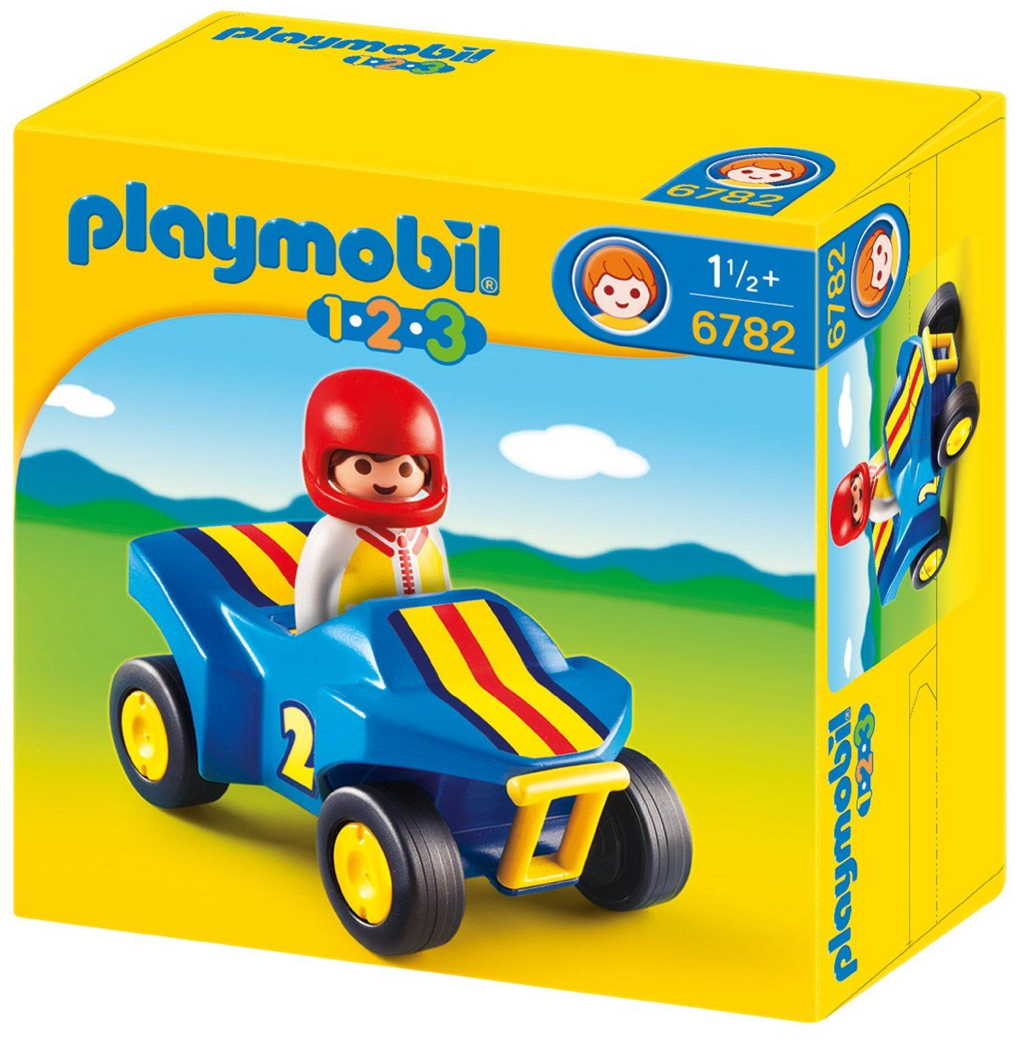 Playmobil 1.2.3 - Quad