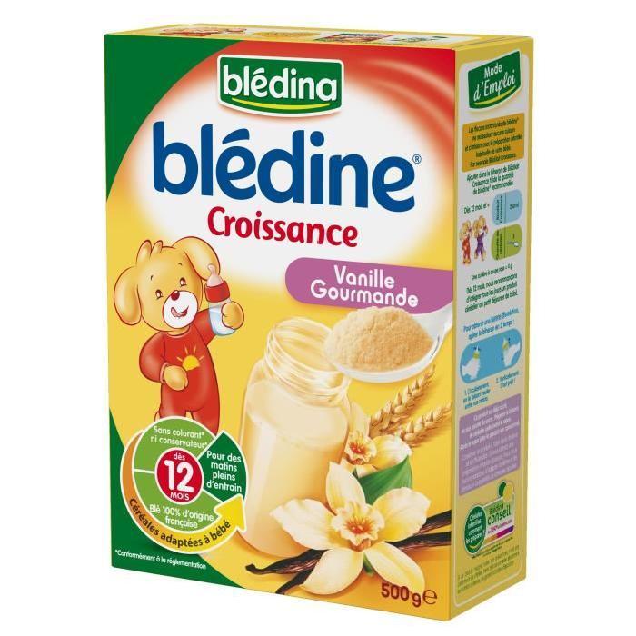 Blédine Croissance Vanille gourmande