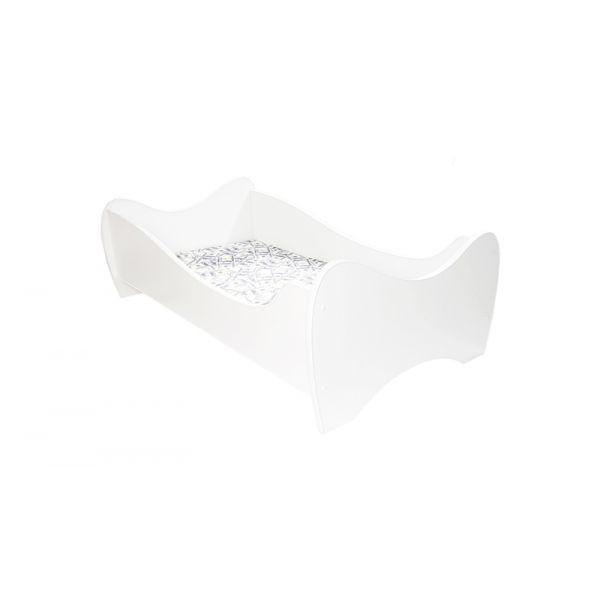 Lit enfant Midi Blanc - 70 x 140 cm