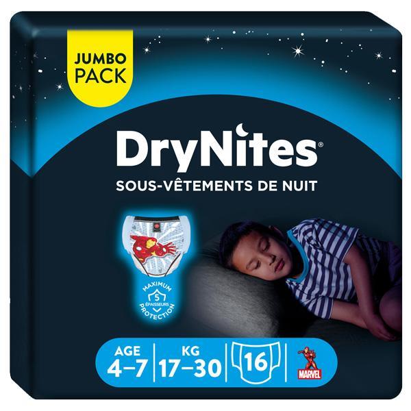 DryNites Culottes Garçon