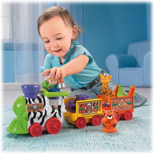 Little People : Train musical du zoo