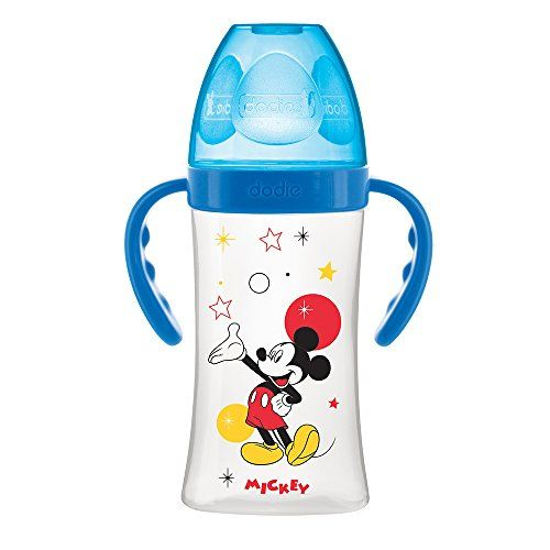 Biberon Initiation+ 270 ml avec Anses Mickey ou Minnie