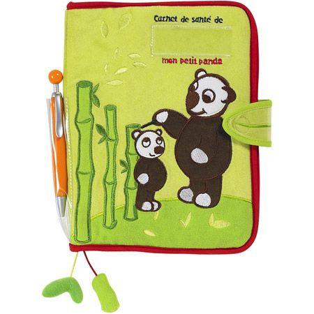 Protège carnet de santé - Panda