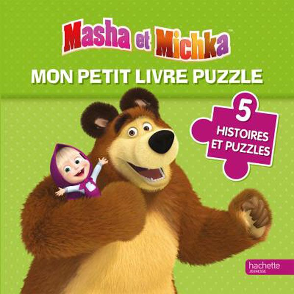 Mon petit livre puzzle Masha et Michka