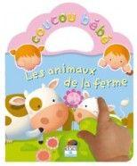 Livre Coucou Bébé - Les animaux de la ferme FLEURUS