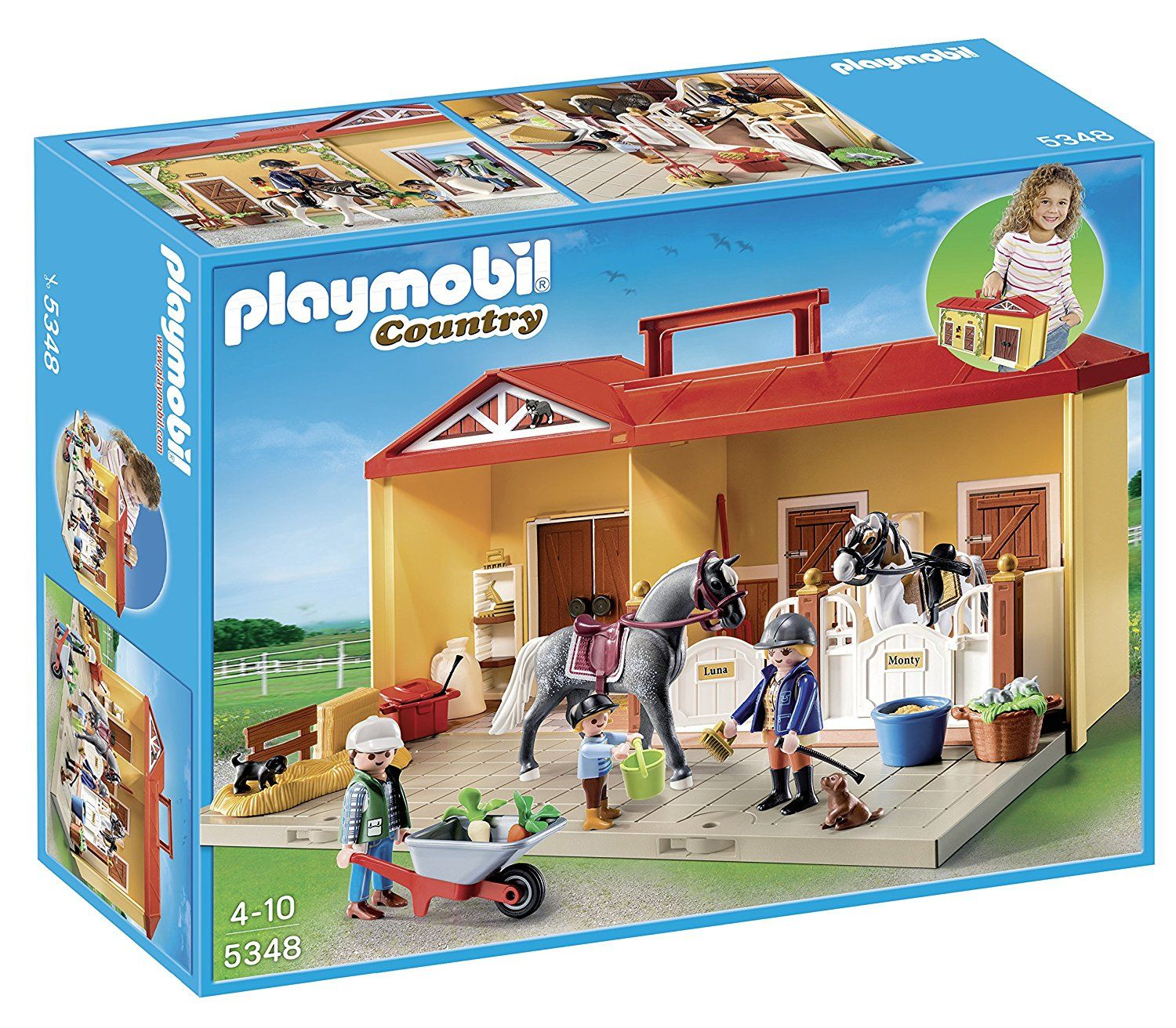 Playmobil Country - Écurie transportable