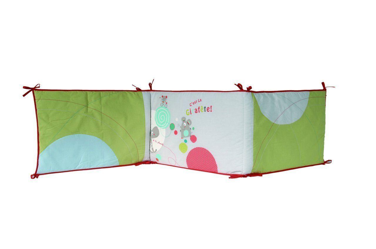 Tour de lit en coton biologique
