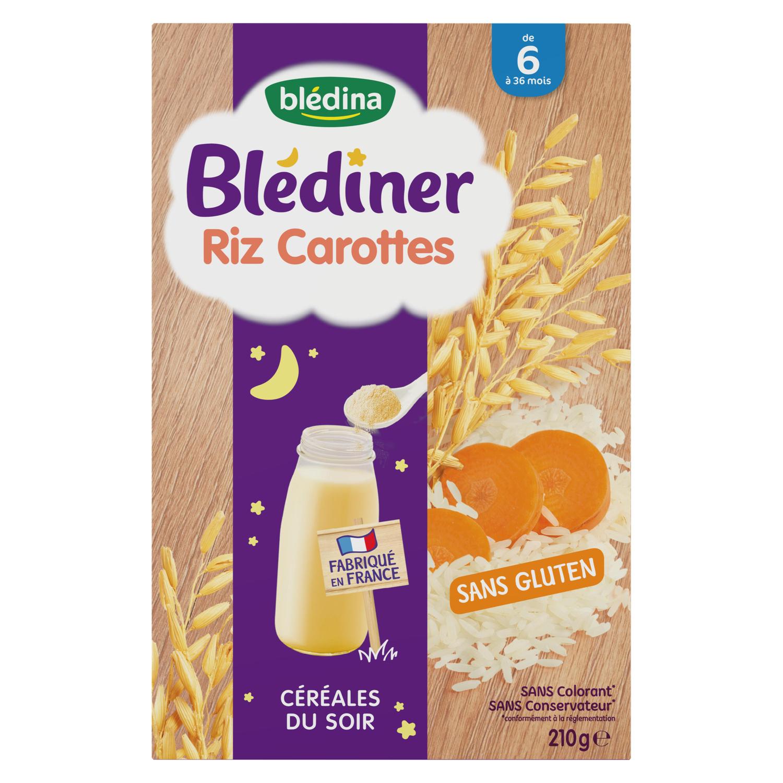 Céréales Blédiner - Riz Carottes