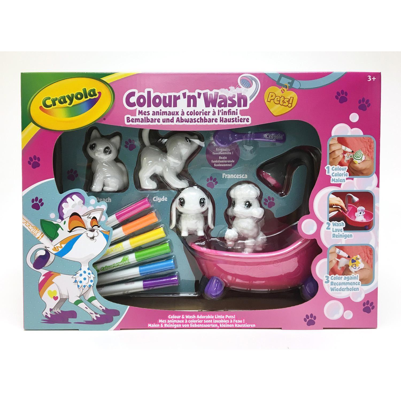 Mes animaux à colorier color'n'wash pets