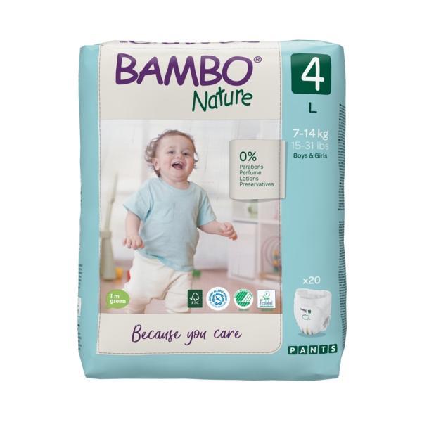 Culottes d'apprentissage Bambo Nature