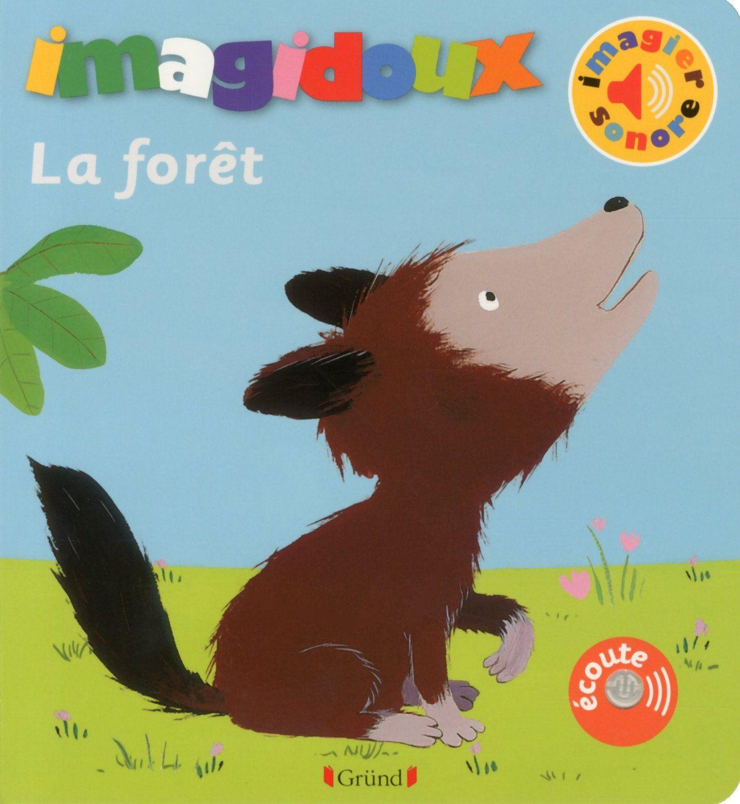 Livre Imagidoux : Dans la forêt
