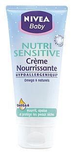 Crème nourrissante Nutri sensitive 100 ml