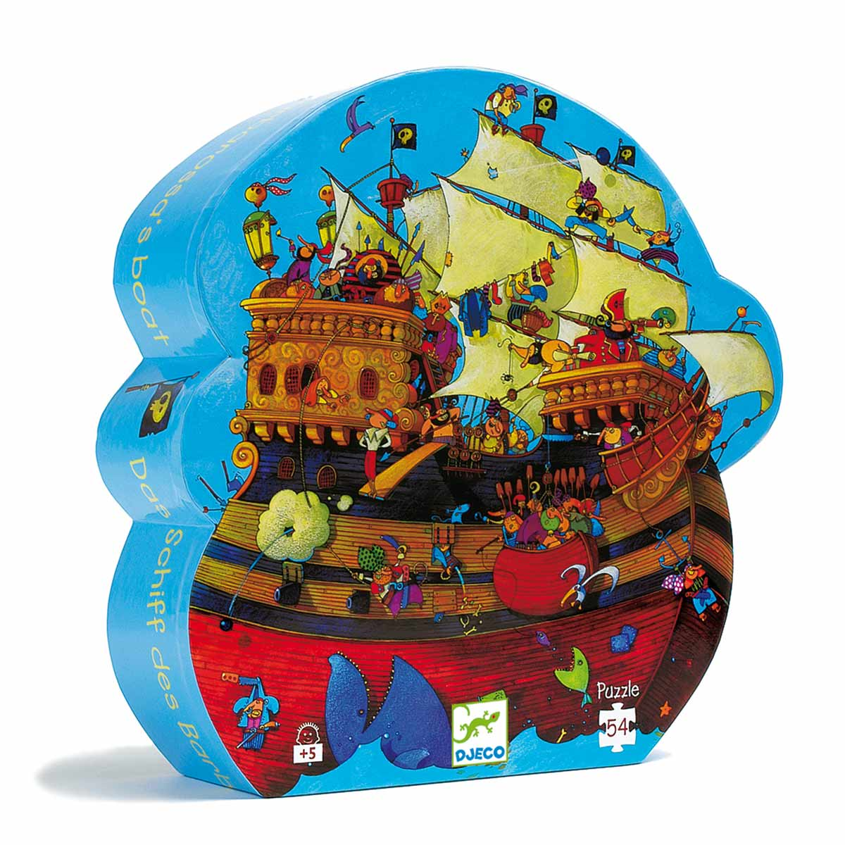 Puzzle Le bateau de Barberousse 54 pièces