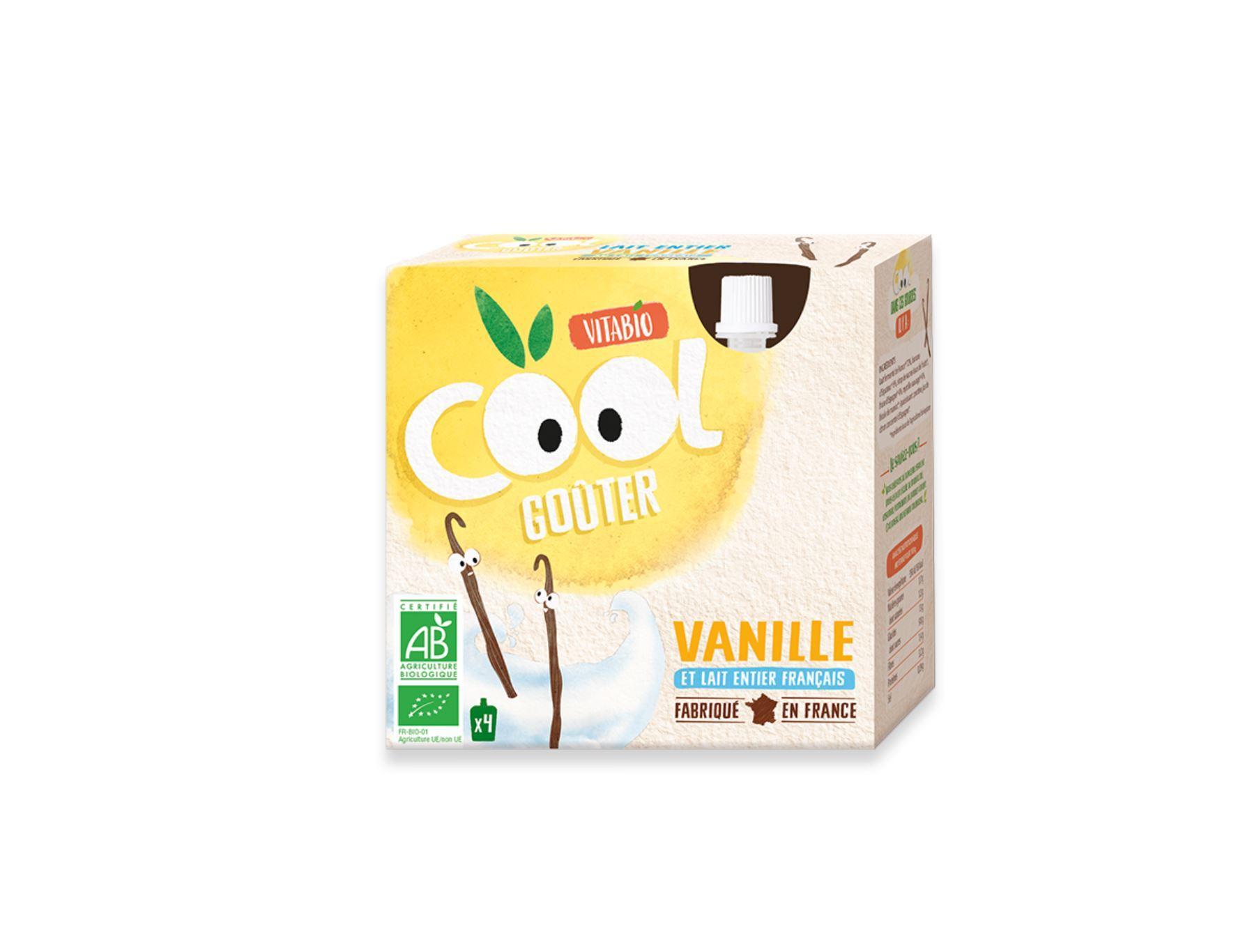 Cool Goûter - au Lait de Vache français - Vanille
