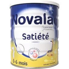 Lait Novalac Satiété 1er âge
