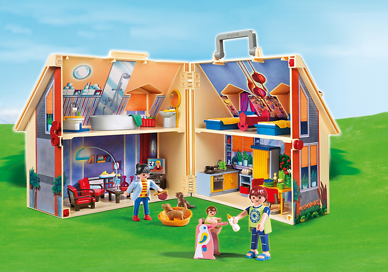 Maison transportable Dollhouse
