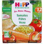 Tomates Pâtes Veau - 2 pots x 250g - 12 mois