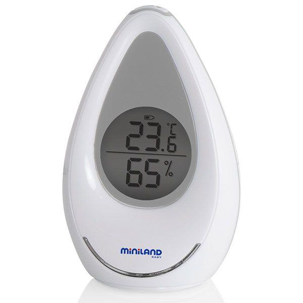 Thermomètre-hygromètre ambidrop