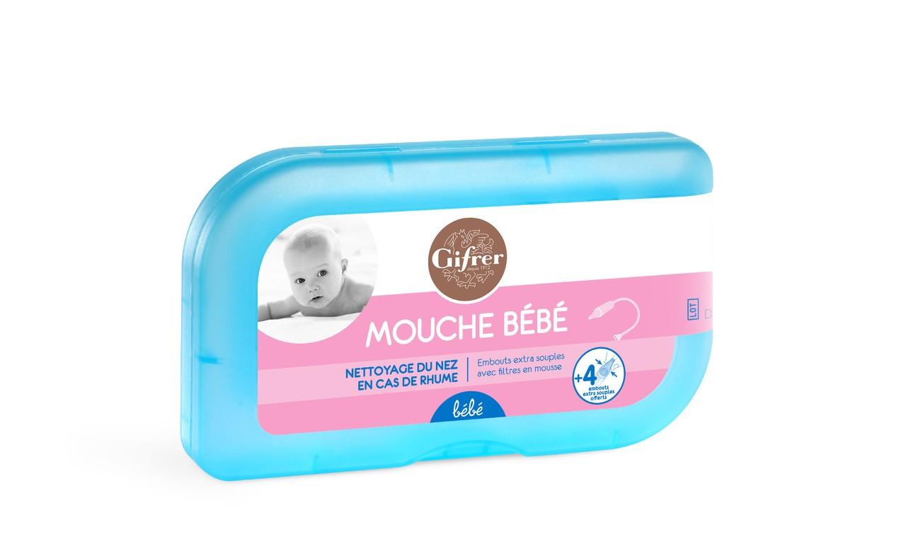 Mouche bébé + 4 embouts