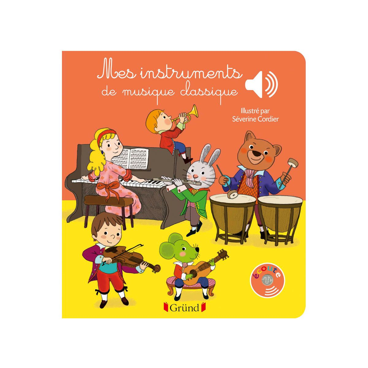 Livre sonore Mes instruments de musique classique