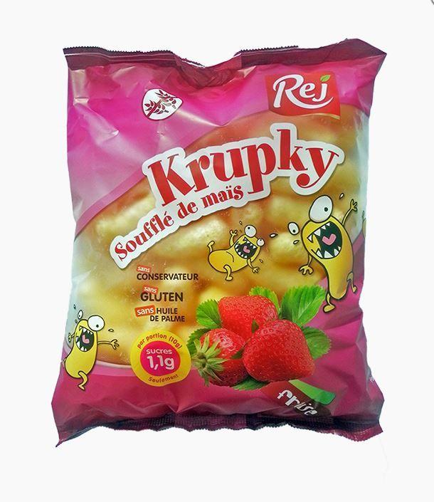 Soufflé de maïs à la fraise KRUPKY