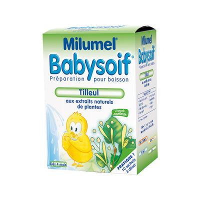 Milumel babysoif tilleul