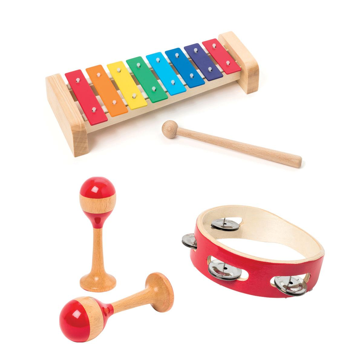 Coffret de 3 instruments de musique