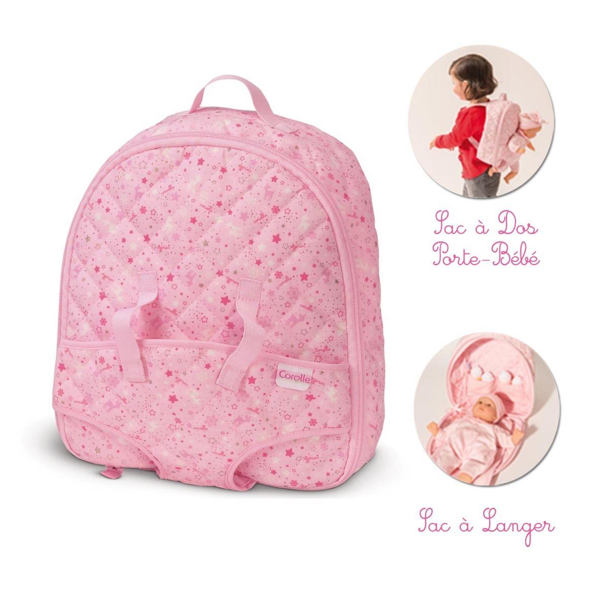 Mon premier sac à langer / Sac à dos porte-bébé